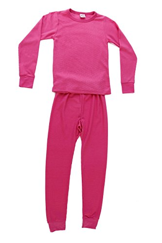 95462-Pink-10/12 Just Love Thermal Underwear Set for Girls