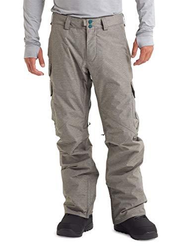Burton Men's Cargo Snow Pant Regular Fit, Shade Heather, Medium