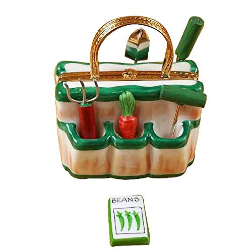 Gardening Bag with Tools Limoges Box