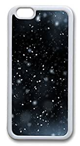 iphone 6 plus 5.5inch Case and Cover Snow flying TPU Silicone Rubber Case Cover for iphone 6 plus 5.5inch White