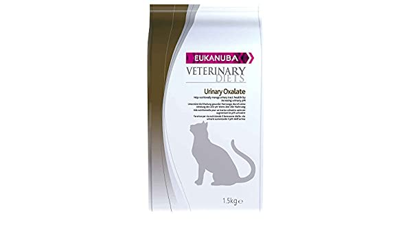 EUKANUBA Urinary Oxalates Adult All Breeds Chicken Bag Comida para Gatos - 1500 gr: Amazon.es: Productos para mascotas