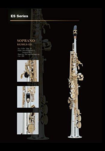 Straight B-Flat Soprano Saxophone