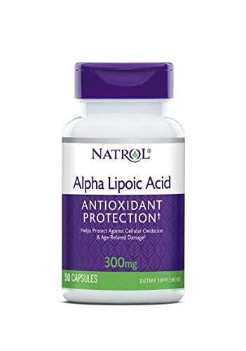 Natrol Alpha Lipoic 300mg Capsules