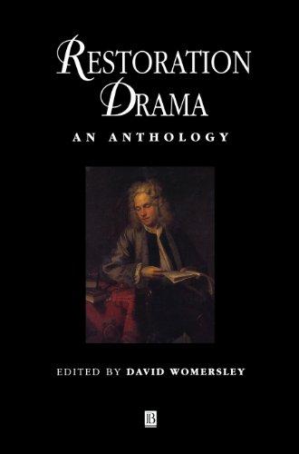 Restoration Drama: An Anthology (Blackwell Anthologies)