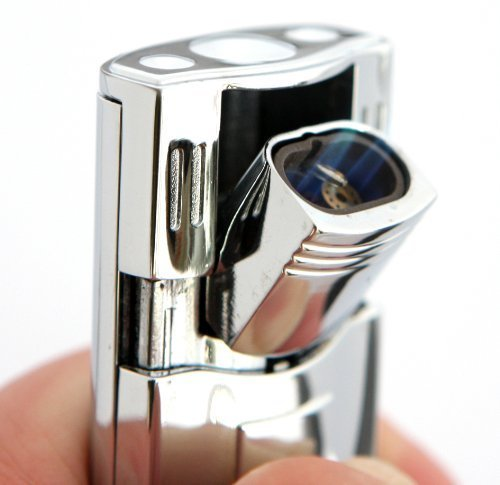 Tiger Phantom Double Flame Torch Flame Lighter by Smoke Mart