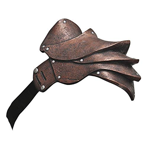 Copper Pauldron Shoulder Armour - http://coolthings.us
