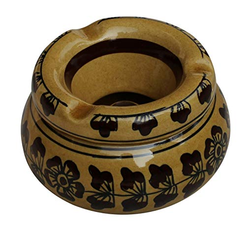 abhandicrafts Deal of The Day - Moroccan Round Ashtray 4