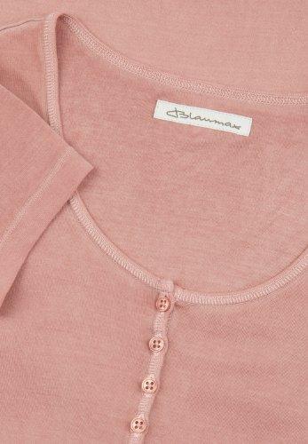 Blaumax - Camiseta de manga corta para mujer Rosa