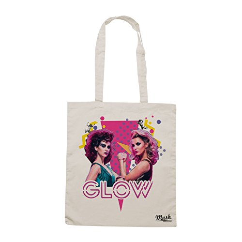 Borsa GLOW SERIE TV WRESLING - Sand - FILM by Mush Dress Your Style