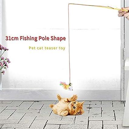 Amazon.com: BeesClover - 1 palo de pesca, 12.2 in, para ...