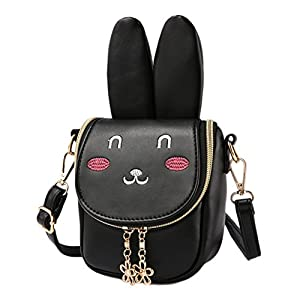 Mibasies KidsBunny Purse Shoulder Bags for Girls Easter Day Gifts for Children