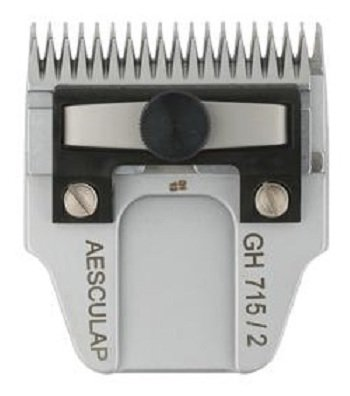 Aesculap Size 2mm short teeth GH715 Dog Grooming Clipper Blade