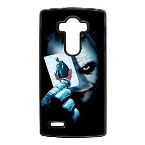 Special Design Cases LG G4 Cell Phone Case Black The Joker Fltas Durable Rubber Cover