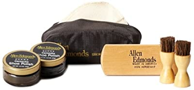 Allen Edmonds Men's Travel Shoe Care Kit