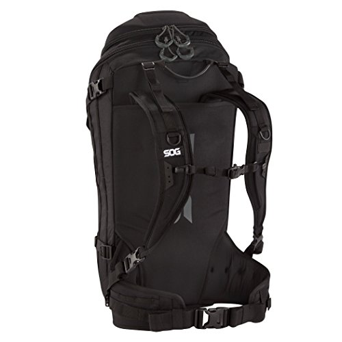 SOG Seraphim Backpack CP1006B Black, 35 L by SOG (Image #1)