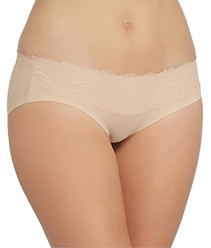 SPANX Undie-tectable Lace Waist Hipster, M, Soft Nude