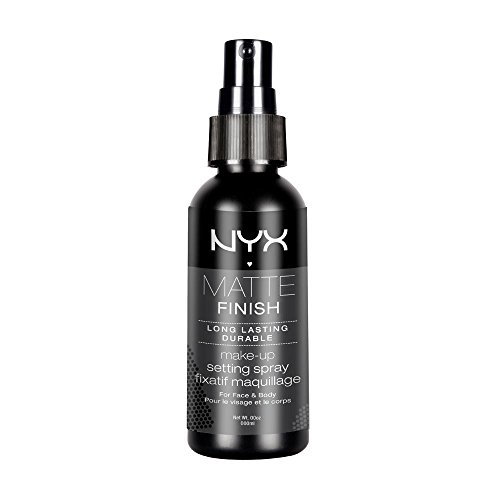 12 Days Until Halloween (NYX PROFESSIONAL MAKEUP Makeup Setting Spray, Matte Finish, 2.03 Fl)
