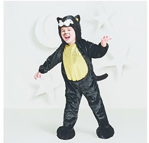 Hyde and Eek! Boutique Toddler Plush Black Cat Costume -