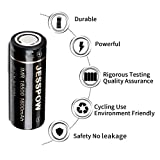 18500 Rechargeable Batteries 4 Pack with