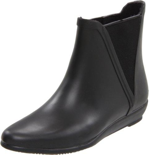 UPC 884141147257, LOEFFLER RANDALL Women's Rain Slip-On Ankle Boot,Black,6 M US