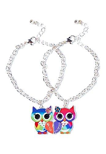 a1d87692030c3 Justice For Girls BFF Best Friends 2pc & 3pc Bracelet Sets