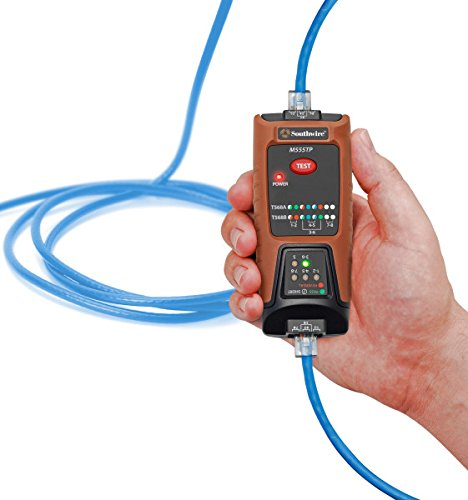 Southwire Tools & Equipment M555TP Network Continuity Tester for Data Cable