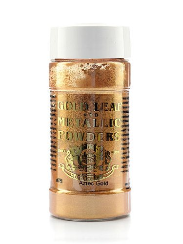Gold Leaf & Metallic Co. Metallic and Mica Powders Aztec gold mica 1 oz.