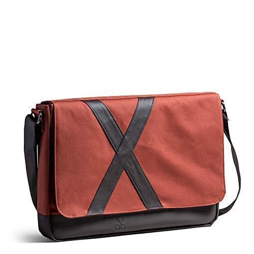 Canvas messenger bag, Laptop bag, Gift for her, Womens shoulder bag, Mens messenger, Everyday Bag