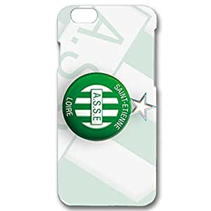 Bright Green Background Saint-Etienne Football Club Phone Case Special Cover for Iphone 6 / 6s ( 4.7 Inch )