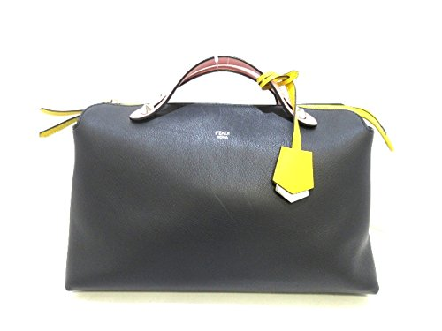 (フェンディ) FENDI ハンドバッグ バイザウェイ 黒×ピンク×イエロー 8BL125-Z1C 【中古】 B07F68NW8C  -
