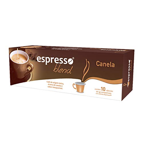 Cápsulas Café Espresso Blend Canela