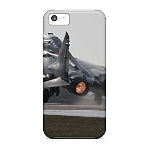 Ultra Slim Fit Hard LittleNiccy Case Cover Specially Made For Iphone 5c- Mig 29