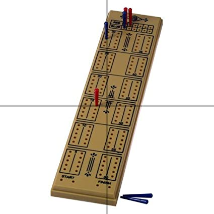 Buy ClubKing Ltd Cribbage Board, 2 Player Online at Low Prices in