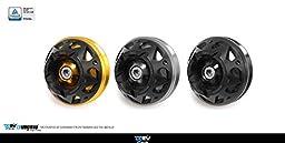 Dimotiv DMV Front Axle Slider-3D for Ducati DIAVEL 10~15 (Black)