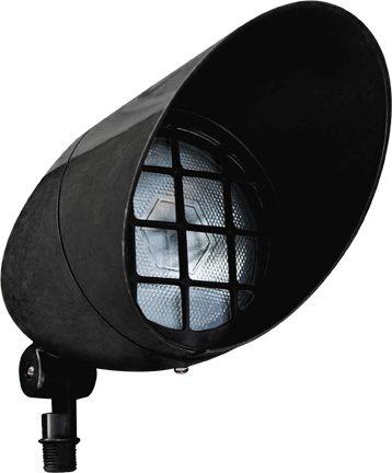 Dabmar Lighting FG23-B Fiberglass Hooded Spot Light Par 38, Black Finish -  Lumtopia--DROPSHIP