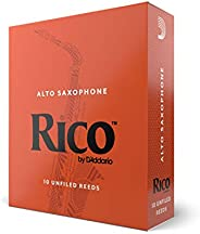 Rico by D'Addario Alto Sax Reeds, Strength 2.5, 10-pack - RJA