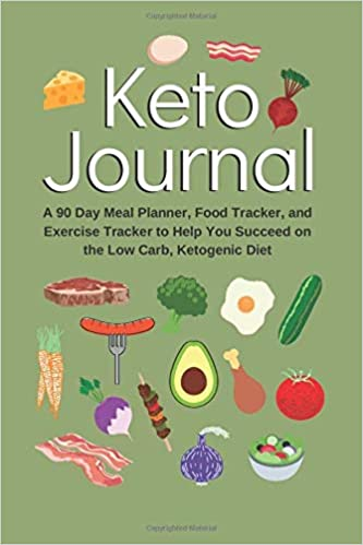 Keto Journal 6x9 Tracker