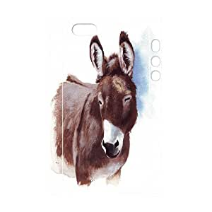 Custom New Case for Iphone 5,5S 3D, The Donkey Phone Case - HL-R685379