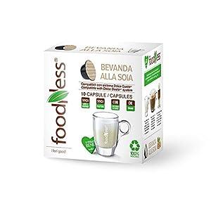 Foodness Bevanda Alla Soia Compatibile Dolcegusto Confezione Da 10 Capsule