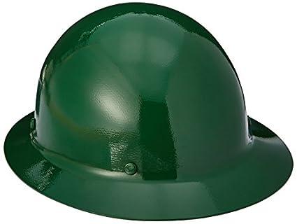 MSA 454668 skullgard full-brim protectora Sombrero w/staz-on Suspensión, verde, estándar: Amazon.es: Amazon.es