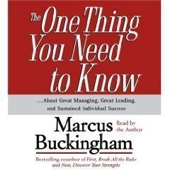 The One Thing You Need To Know (An Abridged Production)[3-CD Set] ...About Great Managing, Great Leading, and Sustained Individual Success pdf epub
