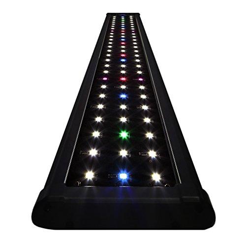 KOVAL-INC-Aquarium-Lighting-Fish-Tank-Light-Hood-with-Extendable-Brackets-White-and-Blue-LEDs