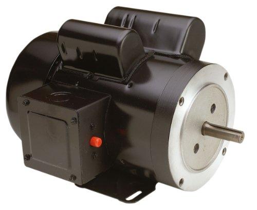 Century C777 Cap Start C-Face, 56C Frame, 1-1/2-HP, 1800-RPM, 115/230-Volt, 15-Amp, Ball Bearing Motor ()