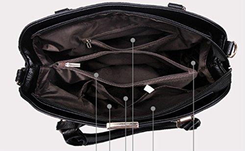 Top Shoulder FOLLOWUS Tote Bags Women Rose Handbags Handle Leather PU qrwxyIZ0wA