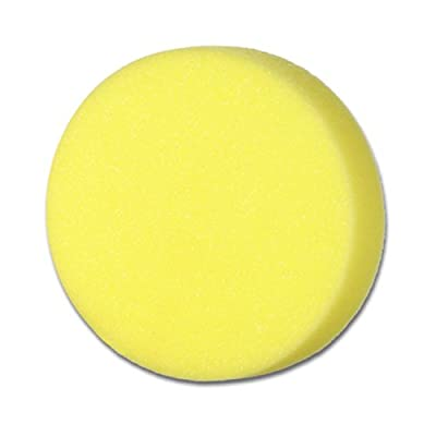 Cyclo (72-135x4-4PK) Yellow Fine Foam Cutting Pad with Loop, (Pack of 4): Automotive