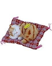 Gobesty Kinderspeelgoed pluche dieren, knuffel, knuffel, knuffeldier, speelgoed met zacht mat bed, voor kinderen en volwassenen