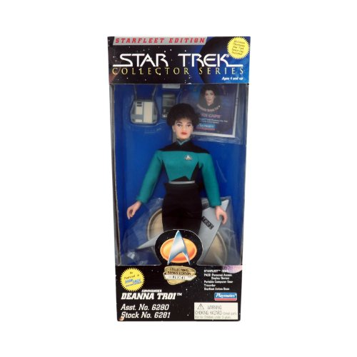 Playmates Star Trek the Next Generation Starfleet Deanna Troi 9 Inch Figure Playmates