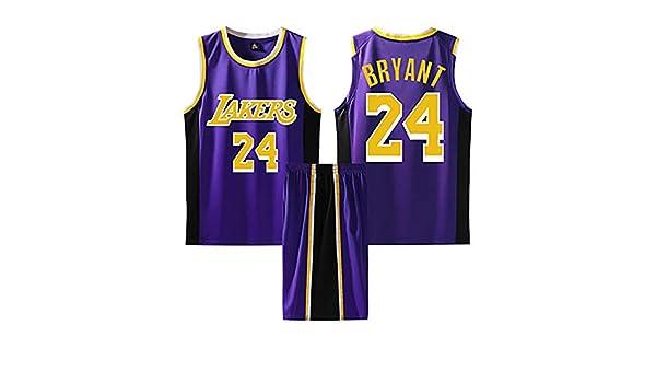 SHPP - Chándal de Baloncesto Escolar Kobe Bryant 24# - Camiseta de ...