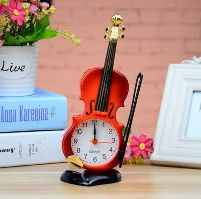 AGECC Despertador Despertador Reloj de Guitarra Estudiante ...