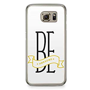 Awesome Samsung Galaxy S6 Transparent Edge Case
